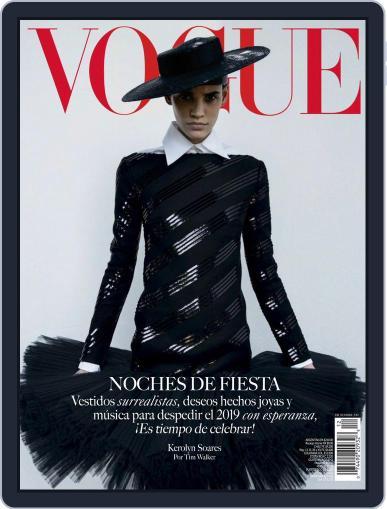 Vogue Latin America December 1st, 2019 Digital Back Issue Cover