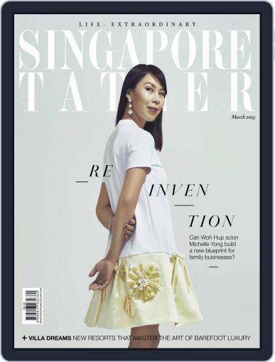 Singapore Tatler March 1st, 2019 Digital Back Issue Cover