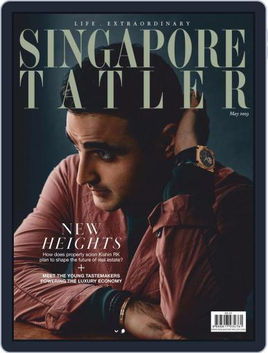 Singapore Tatler May 1st, 2019 Digital Back Issue Cover