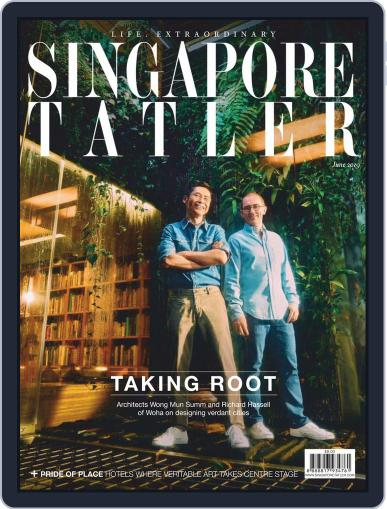 Singapore Tatler June 1st, 2019 Digital Back Issue Cover