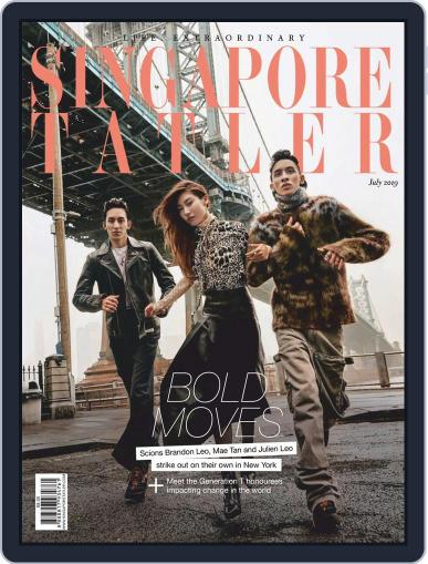 Singapore Tatler July 1st, 2019 Digital Back Issue Cover