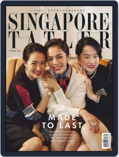 Singapore Tatler October 1st, 2019 Digital Back Issue Cover
