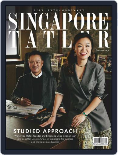 Singapore Tatler December 1st, 2019 Digital Back Issue Cover