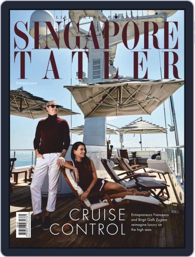 Singapore Tatler February 1st, 2020 Digital Back Issue Cover
