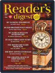 Reader's Digest India (Digital) Subscription March 1st, 2019 Issue