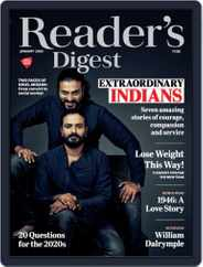 Reader's Digest India (Digital) Subscription January 1st, 2020 Issue