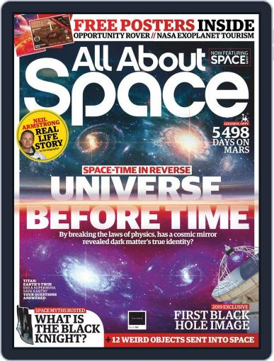 All About Space August 1st, 2019 Digital Back Issue Cover