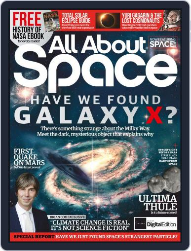 All About Space October 1st, 2019 Digital Back Issue Cover