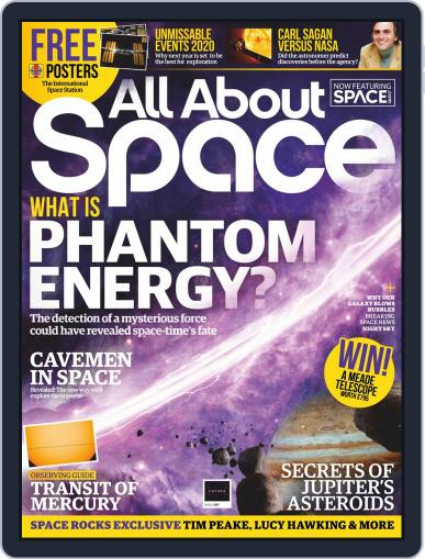 All About Space April 1st, 2020 Digital Back Issue Cover