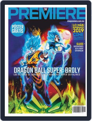 Cine Premiere January 1st, 2019 Digital Back Issue Cover