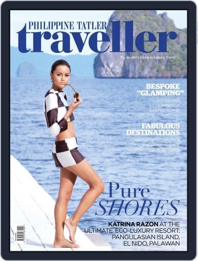 Philippine Tatler Traveller July 15th, 2013 Digital Back Issue Cover