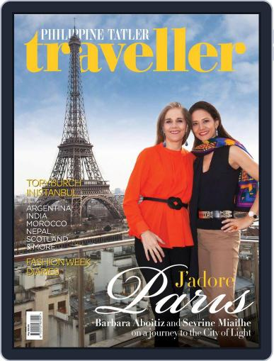 Philippine Tatler Traveller May 18th, 2015 Digital Back Issue Cover
