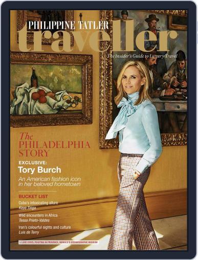 Philippine Tatler Traveller October 13th, 2017 Digital Back Issue Cover