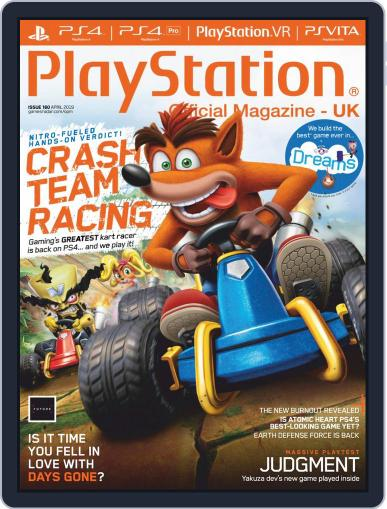 Official PlayStation Magazine - UK Edition April 1st, 2019 Digital Back Issue Cover