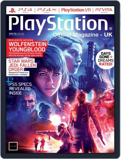 Official PlayStation Magazine - UK Edition June 1st, 2019 Digital Back Issue Cover