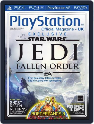 Official PlayStation Magazine - UK Edition July 1st, 2019 Digital Back Issue Cover
