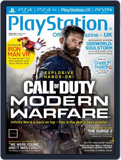 Official PlayStation Magazine - UK Edition October 1st, 2019 Digital Back Issue Cover
