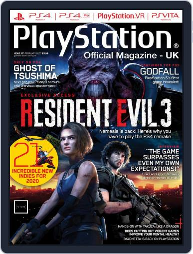 Official PlayStation Magazine - UK Edition February 1st, 2020 Digital Back Issue Cover