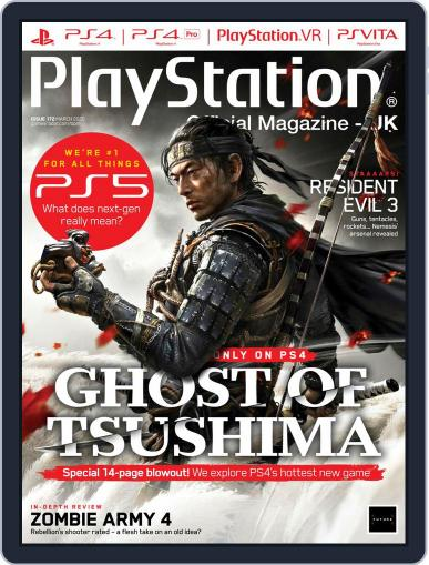 Official PlayStation Magazine - UK Edition March 1st, 2020 Digital Back Issue Cover
