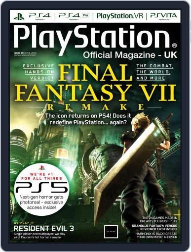 Official PlayStation Magazine - UK Edition April 1st, 2020 Digital Back Issue Cover