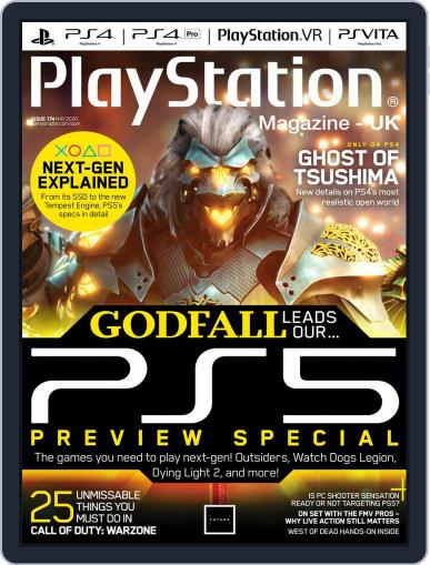 Official PlayStation Magazine - UK Edition May 1st, 2020 Digital Back Issue Cover