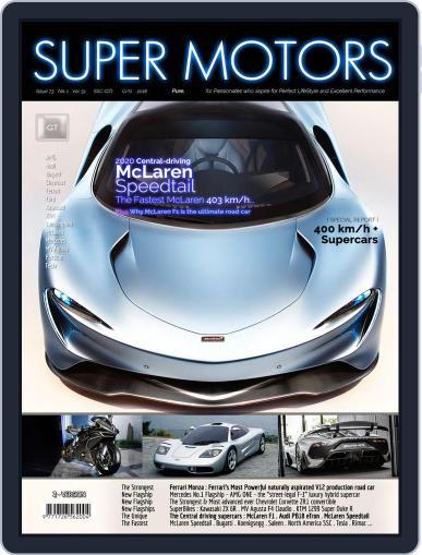 SUPER MOTORS November 15th, 2018 Digital Back Issue Cover