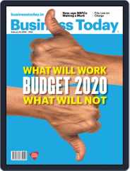Business Today (Digital) Subscription February 23rd, 2020 Issue