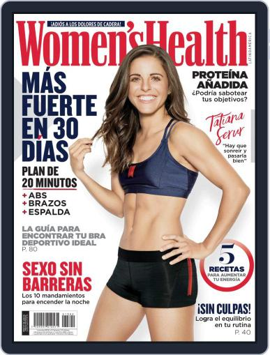 Women's Health México February 1st, 2019 Digital Back Issue Cover