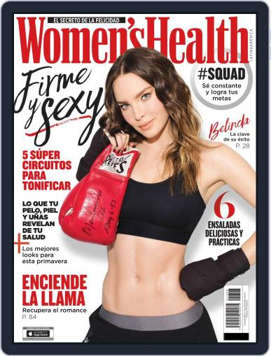 Women's Health México March 1st, 2019 Digital Back Issue Cover