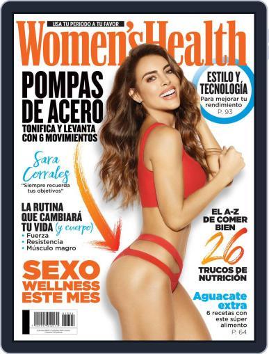 Women's Health México April 1st, 2019 Digital Back Issue Cover