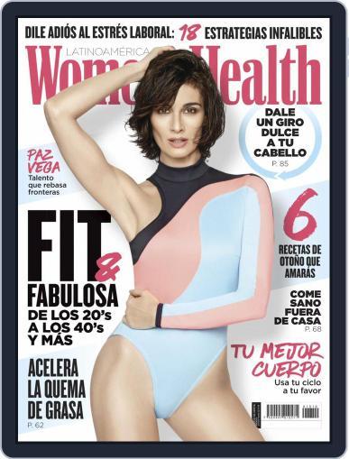 Women's Health México October 1st, 2019 Digital Back Issue Cover