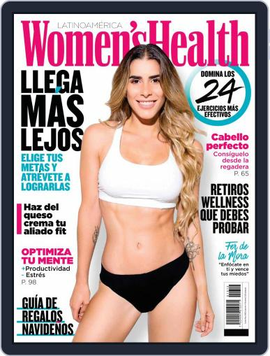 Women's Health México December 1st, 2019 Digital Back Issue Cover