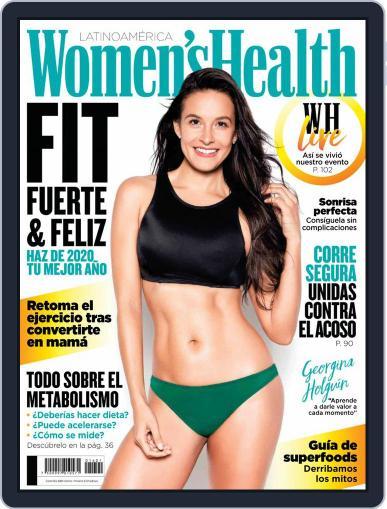 Women's Health México January 1st, 2020 Digital Back Issue Cover