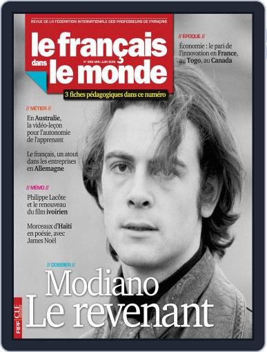 Le Français Dans Le Monde May 1st, 2015 Digital Back Issue Cover