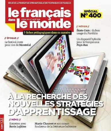 Le Français Dans Le Monde July 1st, 2015 Digital Back Issue Cover