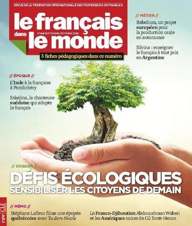 Le Français Dans Le Monde September 1st, 2015 Digital Back Issue Cover