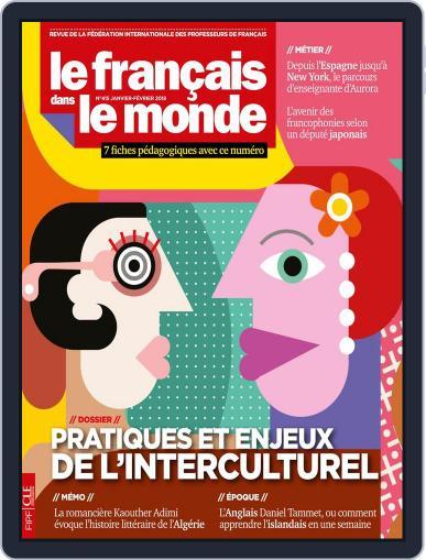 Le Français Dans Le Monde January 1st, 2018 Digital Back Issue Cover