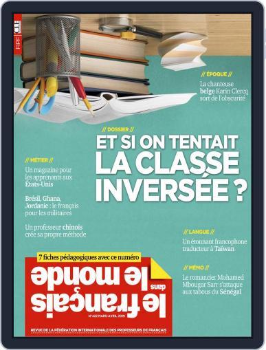Le Français Dans Le Monde March 1st, 2019 Digital Back Issue Cover