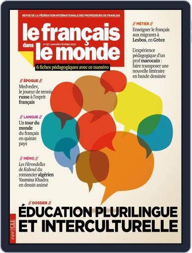 Le Français Dans Le Monde January 1st, 2020 Digital Back Issue Cover