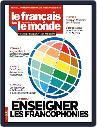 Le Français Dans Le Monde March 1st, 2020 Digital Back Issue Cover