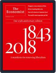 The Economist Continental Europe Edition (Digital) Subscription September 15th, 2018 Issue