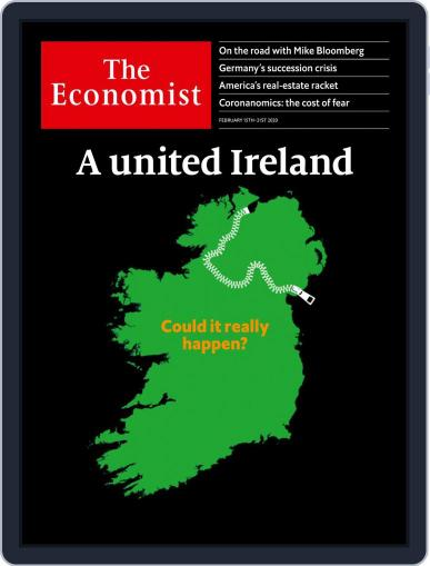 The Economist Continental Europe Edition February 15th, 2020 Digital Back Issue Cover