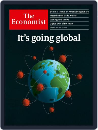 The Economist Continental Europe Edition February 29th, 2020 Digital Back Issue Cover
