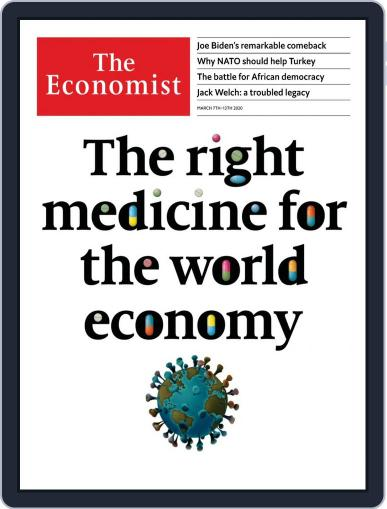 The Economist Continental Europe Edition March 7th, 2020 Digital Back Issue Cover