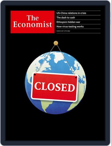 The Economist Continental Europe Edition March 21st, 2020 Digital Back Issue Cover