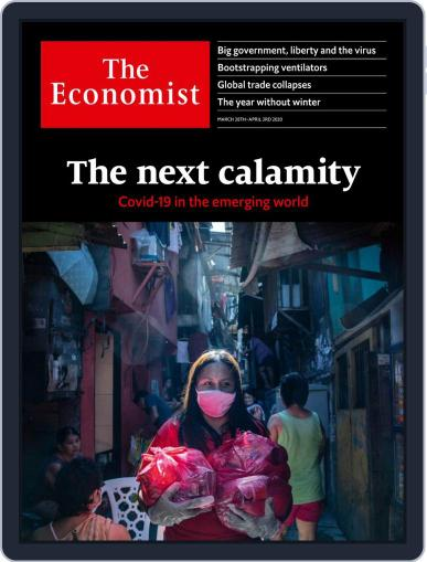 The Economist Continental Europe Edition March 28th, 2020 Digital Back Issue Cover