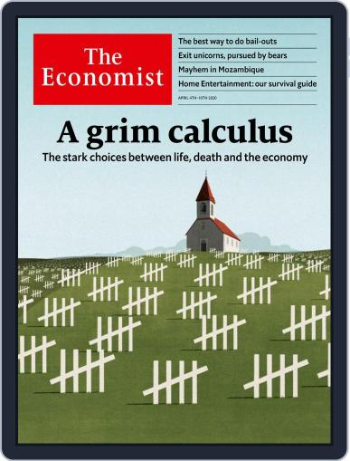 The Economist Continental Europe Edition April 4th, 2020 Digital Back Issue Cover