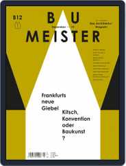 Baumeister (Digital) Subscription December 1st, 2015 Issue
