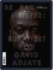Baumeister (Digital) Subscription May 1st, 2018 Issue