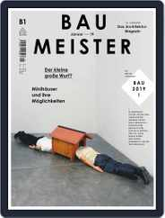 Baumeister (Digital) Subscription January 1st, 2019 Issue